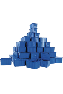 Plastic Boxes Tower